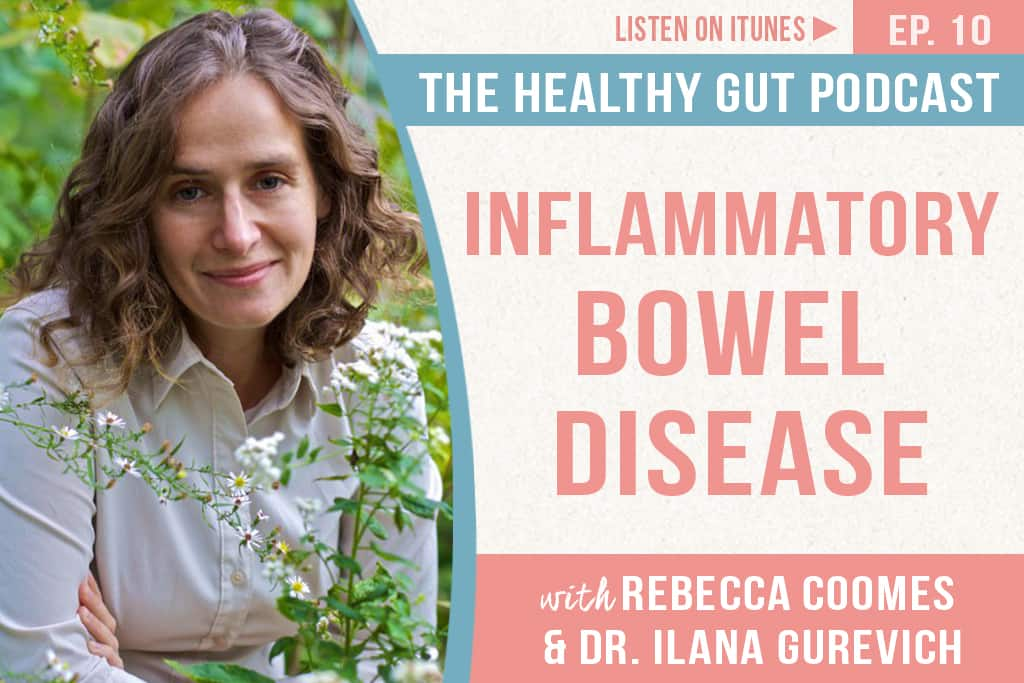 Rebecca Coomes The Healthy Gut with Dr Ilana Gurevich inflammatory bowel disease