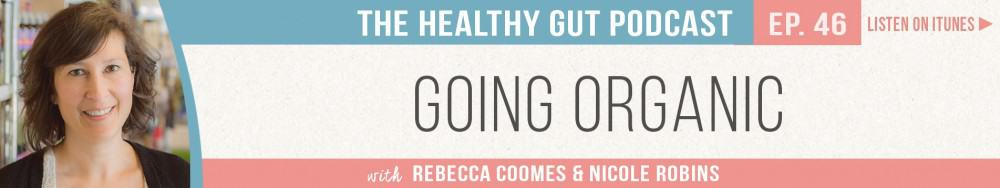 Rebecca Coomes The Healthy Gut Podcast with Nicole Robins