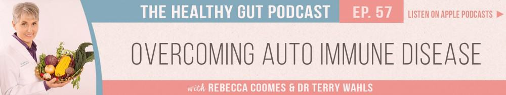 Rebecca Coomes The Healthy Gut Podcast with Dr Terry Wahls on Overcoming Auto Immune Disease