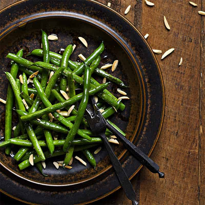 Green Beans With Slivered Almonds Recipe 800x800