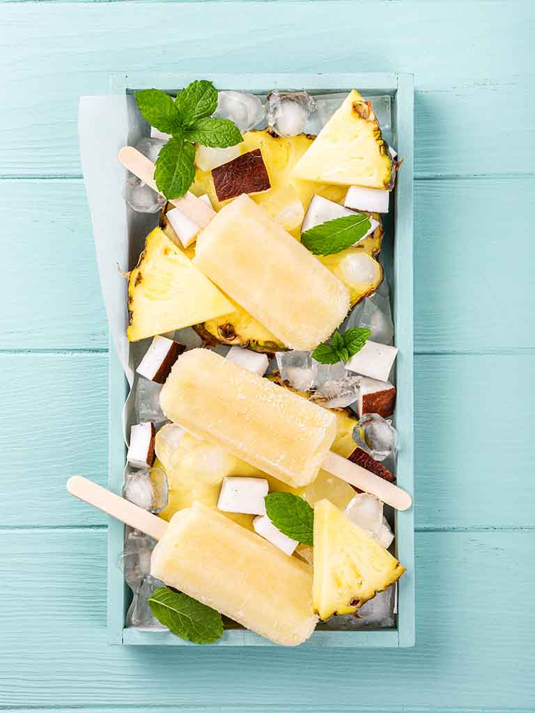 Pina Colada Popsicles Recipe 786x1024
